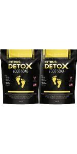 Citrus Detox Foot Soak - 2 Pack