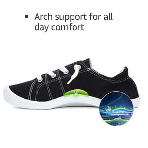 Arch Support Slip On Sneakers