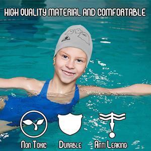 swim cap, Critter Cap, Toddler Swimming Cap, Swimming Cap for Kids, toddler hats, swim cap