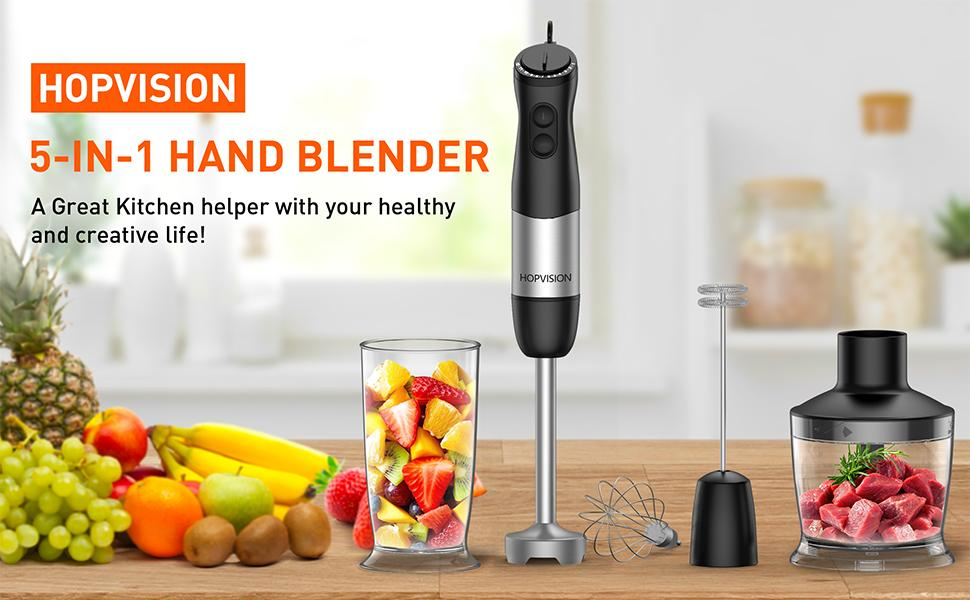 HOPVISION Hand Blender Make Your Kitchen Chores Easy.