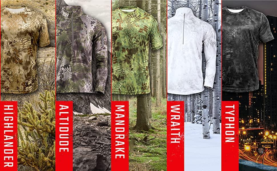 highlander camo, forest camo, wooded camo hunting camo