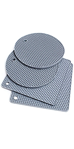 Silicone Trivet Non-Slip and Heat Resistant Trivet Mats