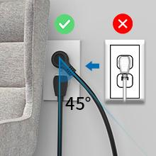 Right Angle Power Strip