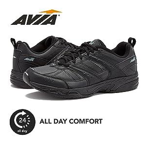 Non Slip Shoes Black Work Sneaker