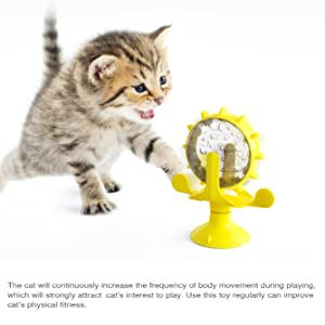 Pet Supplies Windmill Cat Toy, Cat Teasing Windmill Toy-Rotating Cat