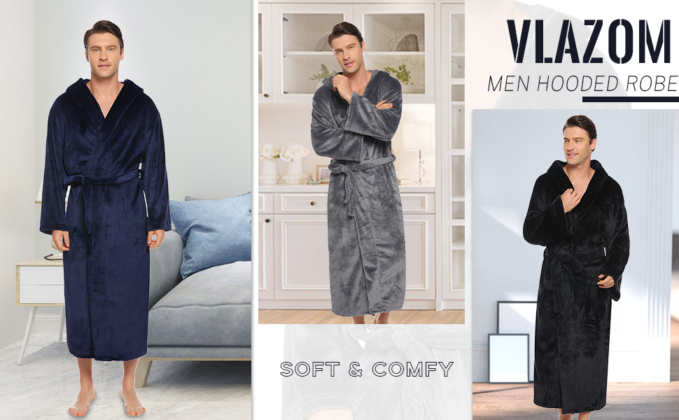 mens robes dressing gowns towelling,mens winter dressing gowns,dressing gown long men