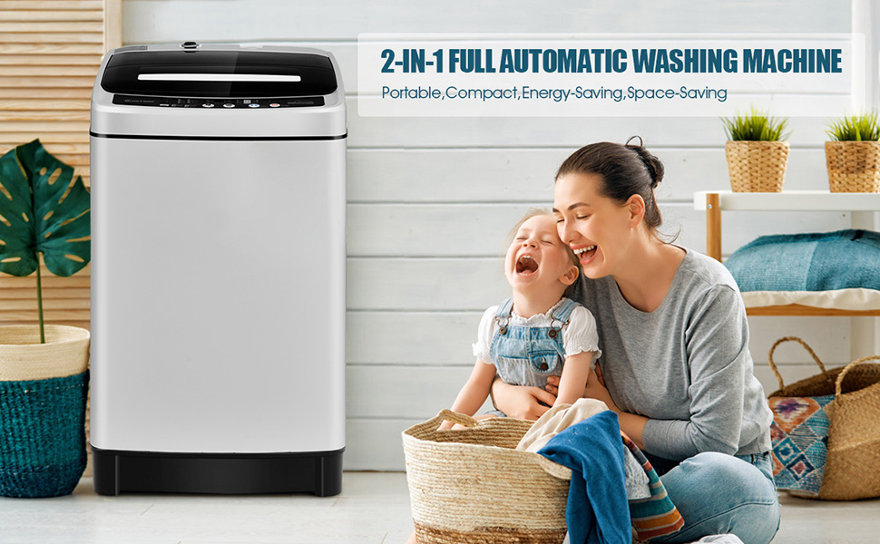 2-in-1 washing machine