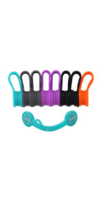 Cable Clips Cable Organizers Earbuds Cords Clips Bookmark Whiteboard Noticeboard Fridge Magnets