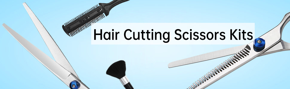 Hair Cutting Scissors Kits