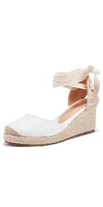 cap toe lace up sandals