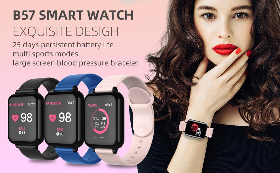 women men kids Smart Watch  for Android Phones Compatible with iPhone