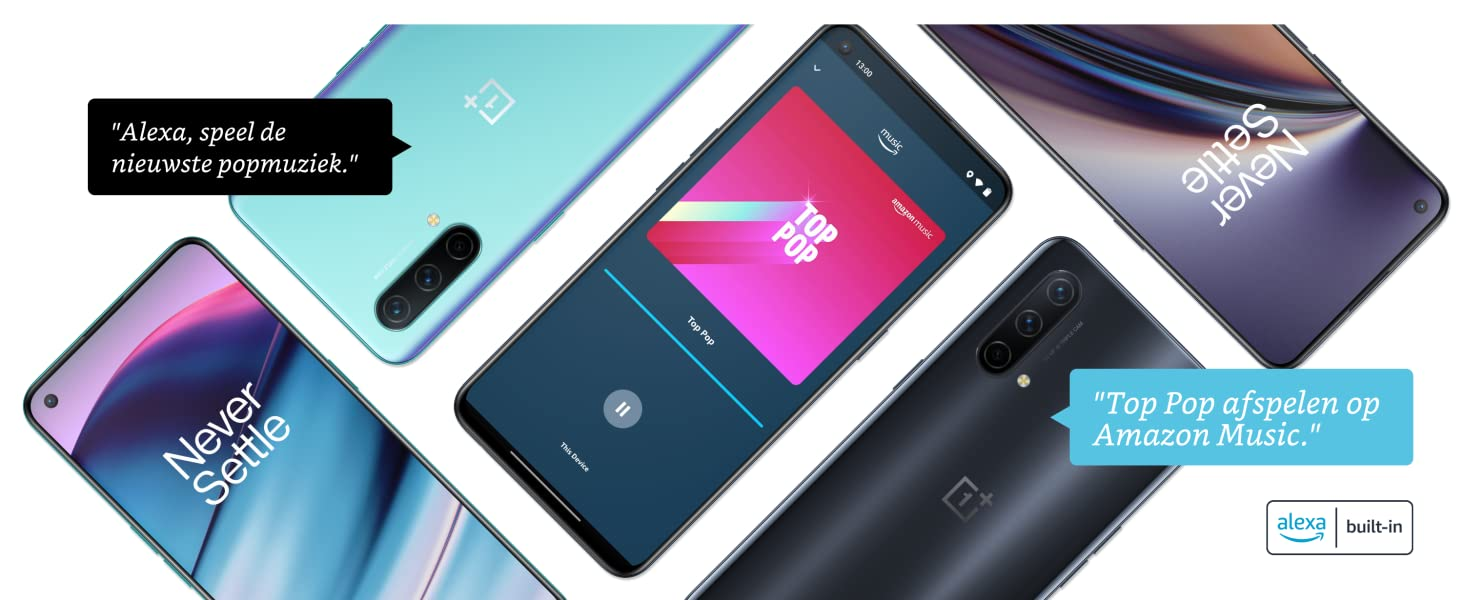 OnePlus Nord CE, Nord CE, Nord, 1+, 1 + , One Plus, 5G Smartphone, Alexa Hands-Free, Alexa Built-in