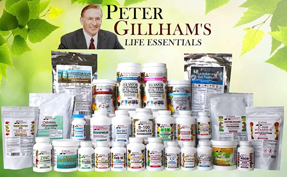 Peter Gillhamamp;amp;#39;s Life essentials vitamin daily packs vital health