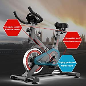 bicicleta de spinning unicview, bicicleta de spinning fitfiu, bicicleta barata