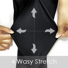 High waist yoga pants with 4 ways stretch soft to wear and sports