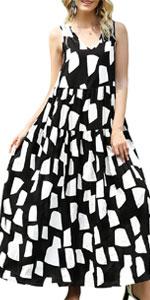 Women Flowy Swing Dress