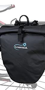 25L waterproof single pannier bag