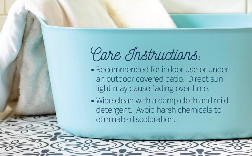 Carolina Creek House - Care Instructions