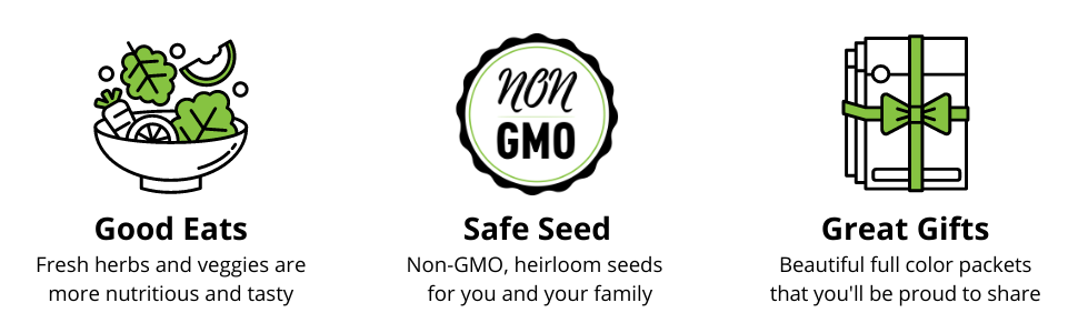 good eats, safe seed, and great gifts