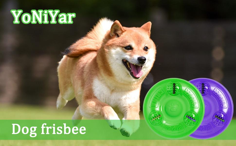 YoNiYar Dog Frisbee