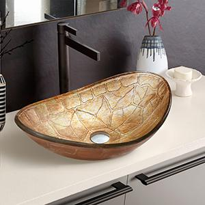 bathroom sink bowls above counter oval
