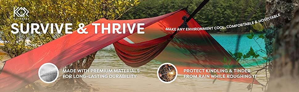 tarp rain fly hammock tent camping backpacking camp ultralight waterproof tarps