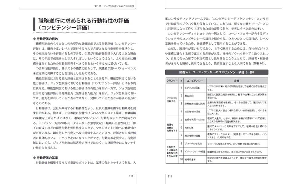 ジョブ型人事制度の教科書 日本企業のための制度構築とその運用法