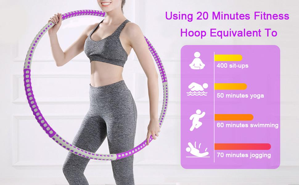 hula fitness hoops for adults
