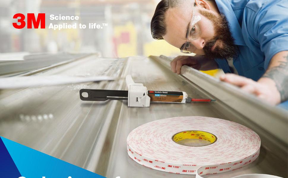 3M VHB Scotch double sided mounting tape foam tape strong heavy duty waterproof