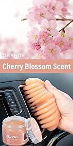 Car Cleaning GeTICARVE Car Cleaning Gel Orangel Orange