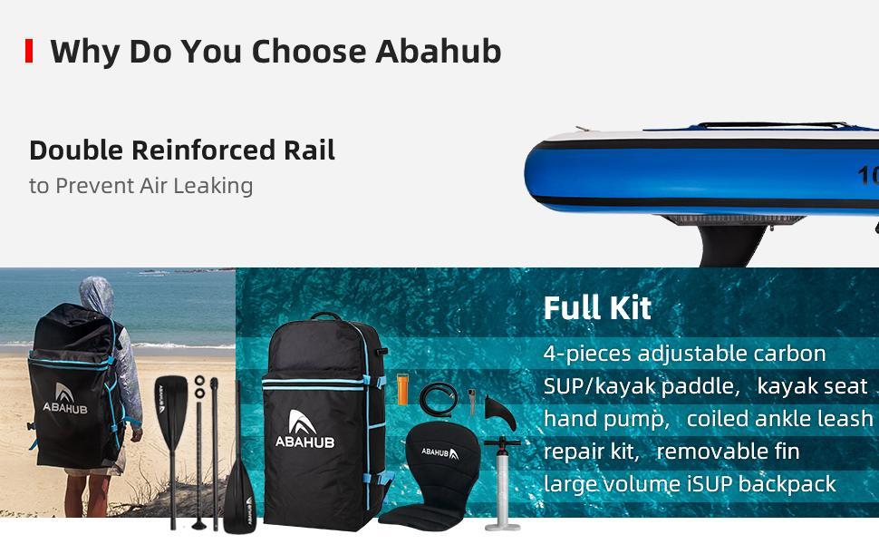 Abahub Inflatable SUP