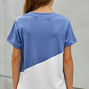 New style fashion shirts for teen girls