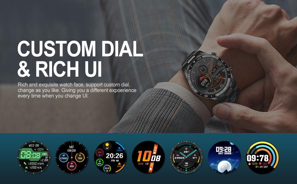 custom dial