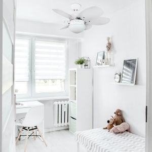 Ventilateur plafond blanc