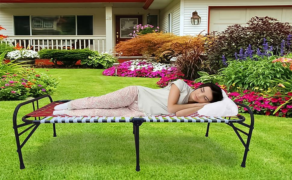 Lady sleep Garden Bed