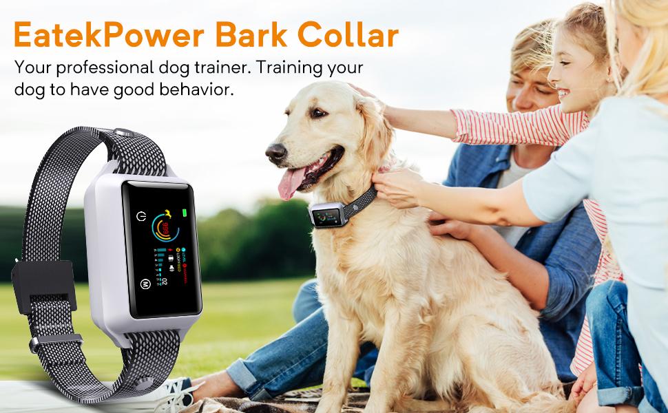 Bark Collar for Small, Medium, Large Dogs