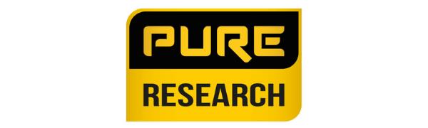 """""""Pure Research"""" įmonės logotipas"""