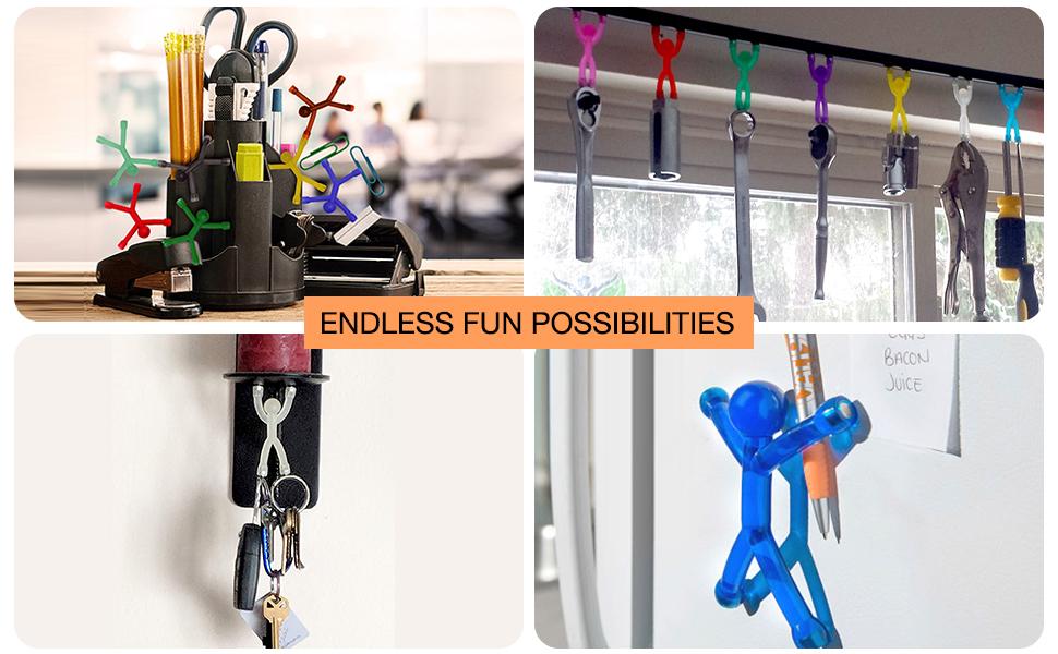 Ergonomic design for versatile uses