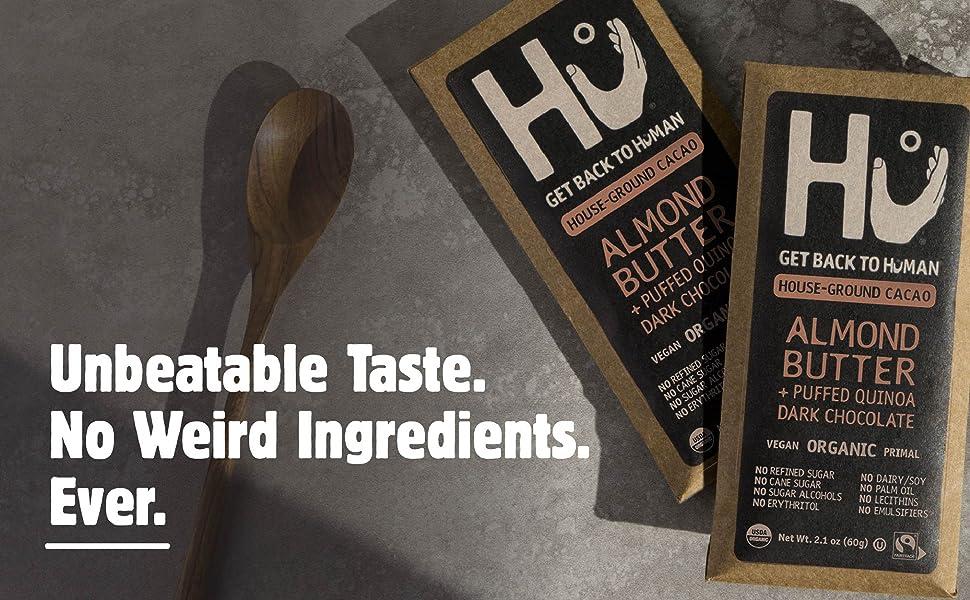 Almond Butter Dark Chocolate Bar