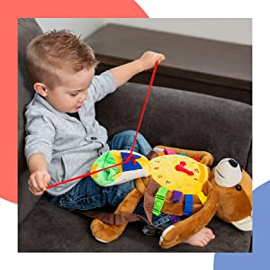 Billy Bear Backpack Buckle Toy