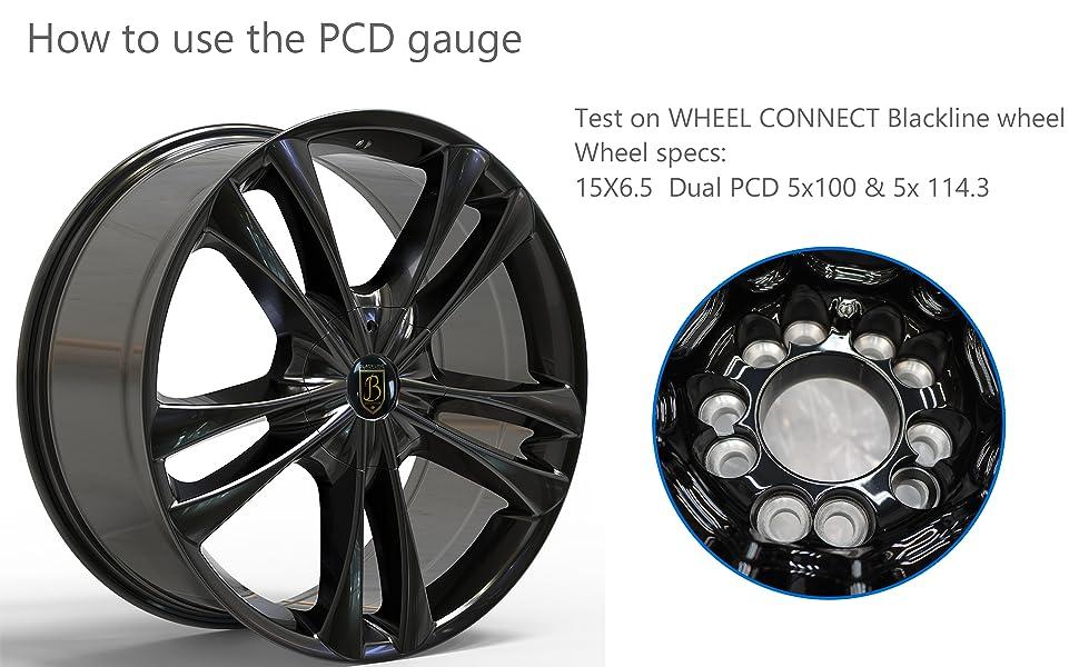 PCD gauge