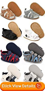 baby boy soft rubber non-slip sandals