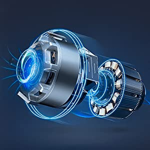 brushless motor powerful and quite