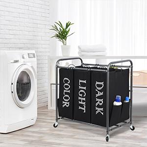 laundry basket with wheel