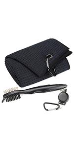 towel and brush set