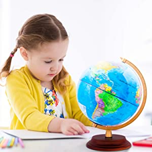 Globe suitable for Children to learning Geographical knowledge