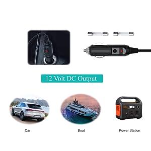 12 volt dc power cord