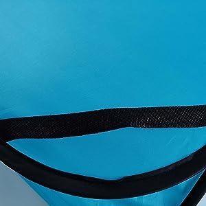Seatbelt straps keep it safely