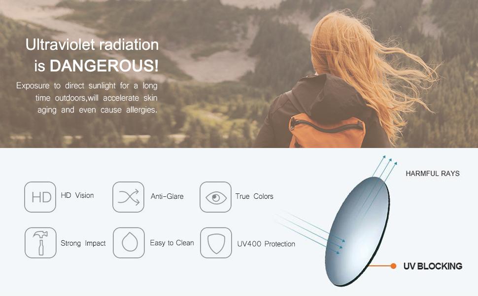 100% UV400 Protection
