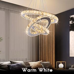 Warm White Chandelier